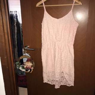 Like new!Dress lace Something Borrowed Size M