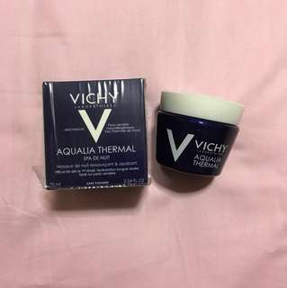 Giveaway! Vichy aquaria thermal night spa