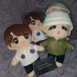 BTS mic drop doll