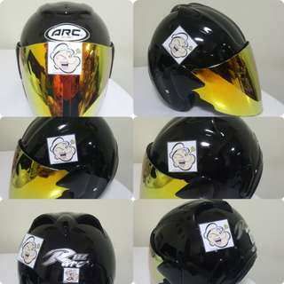 1801*** ARC Ritz Helmet For Sale 😁😁Thanks To All My Buyer Support 🐇🐇 Yamaha, Honda, Suzuki