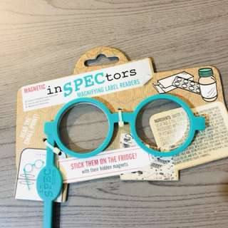 Magnetic Magnifying Label Readers