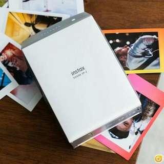 Fujifilm Intax SHARE SP-2 無線打印機銀色