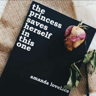 *NEW* THE PRINCESS SAVES HERSELF in this one