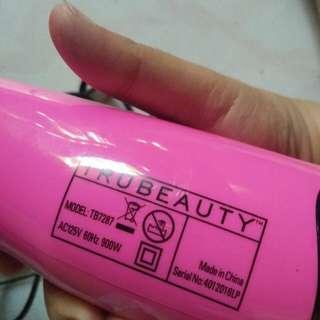 Hair blower w/ brush
