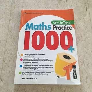 P1 Maths Practice 1000+