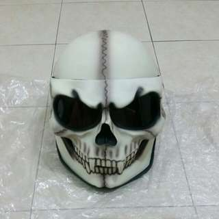 Skull full face helmet