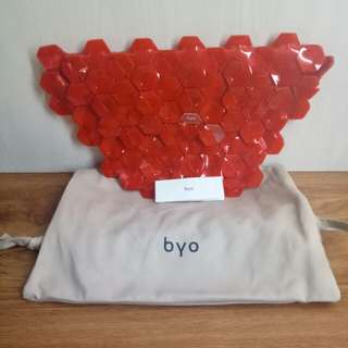 BYO bag Machina in balado red