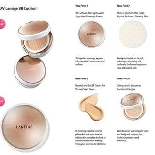Laneige Anti Ageing Cushion SPF50