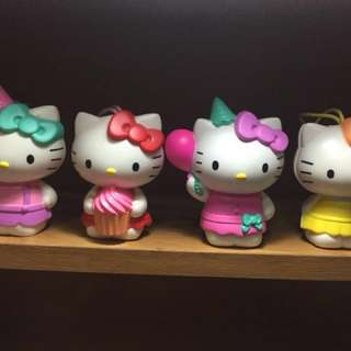 Hello Kitty - Mcdonald's Collectible Toys 2015 (Complete Set)
