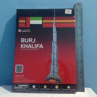 Burj Khalifa - 3D Puzzle