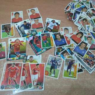 Football Stickers, Cards, Magazines
