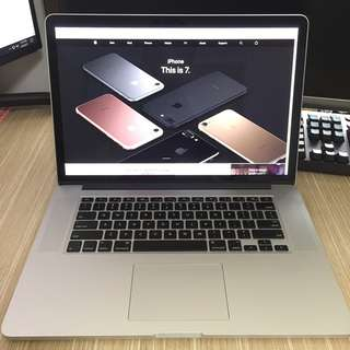"Apple MacBook Pro Retina 15"" inch"