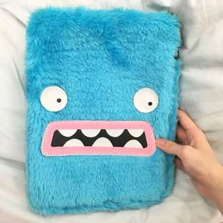 Cute Fluffy Ipad Sleeve Case/ clutch