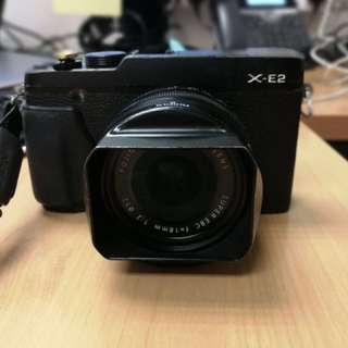 Fujifilm XE-2 + 18mm f2
