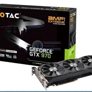 Zotac gtx 970 amp extreme core edition