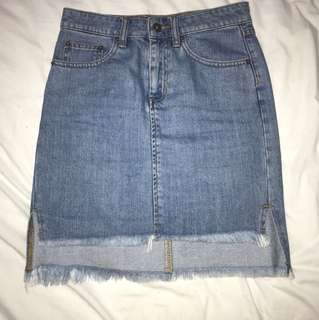 Bardot Denim Skirt