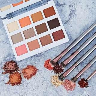Warm Stone Marble Eyeshadow Palette by Bh Cosmetics