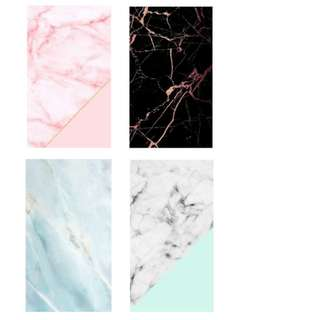 💜Customize Notebooks - Marble Series