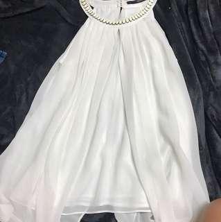 seduce cream dress