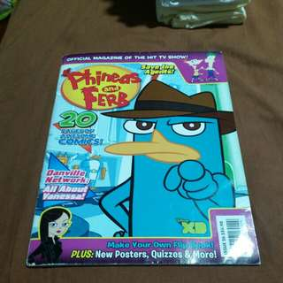 Phineas and Ferb magazine no.26
