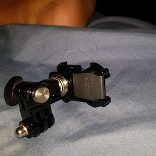 GoPro side helmet mount