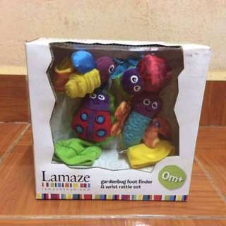 New in box Lamaze Foot Finder & Wrist Rattle