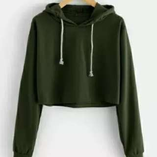 Crop sweater / crop hoodie