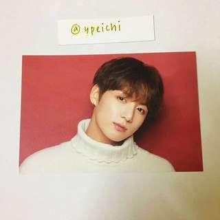 BTS X Shibuya 109 Xmas Postcard - Jungkook