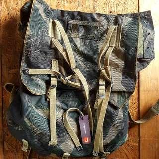 Vintage Army Surplus ATM Backpack