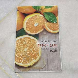 Nature Republic Orange Mask