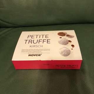 日本Royce Petite Truffe 松露朱古力