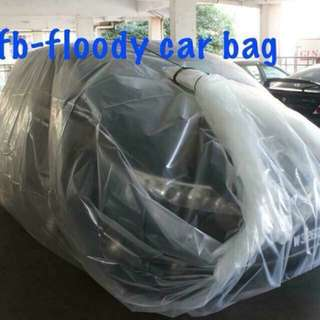 Protection car covered bag