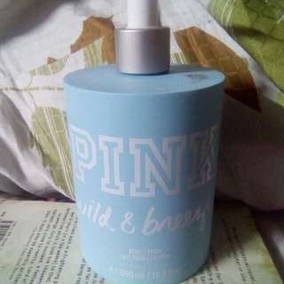 Victoria's Secret Pink Wild and Breezy Body Lotion
