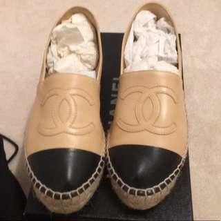 真品 chanel 平底鞋 shoes flats