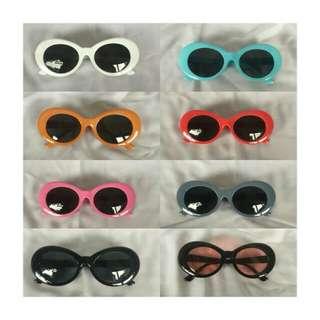 (WARNA LENGKAP!!) Kacamata   Sunglasses Frame Curt Cobain Grunge Nirvana