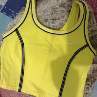 Yellow Nike Gym Wear