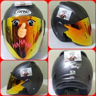 1801*** ARC Ritz Helmet For Sale 😁😁Thanks To All My Buyer Support 🐇🐇 Yamaha, Honda, Suzuki
