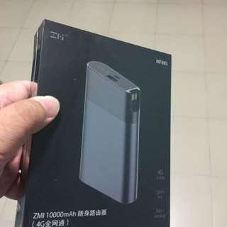 Xiaomi ZMI MF885 4G LTE Portable WIFI Travel Router - Black