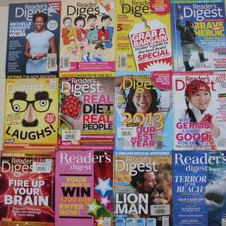 Readers' Digest  Maagazine
