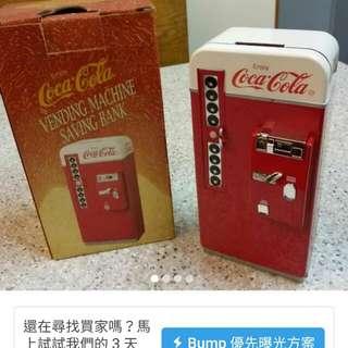 可口可樂錢箱。收藏品