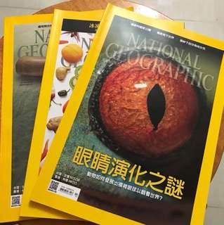 National geographic (3本)