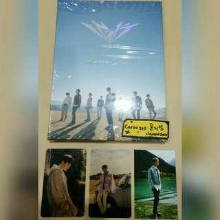 IN2IT Carpe Diem 1st Mini Album FULL SET