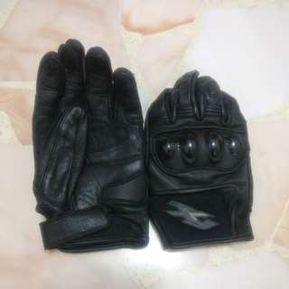 Brand new FX leather hand glove with armored