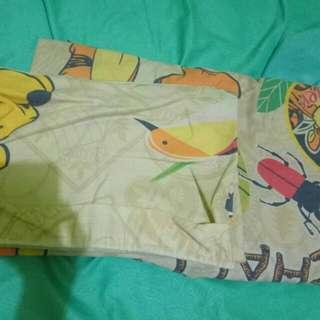 Sprei King 180x200 Motif Winnie The Pooh..lgkp 2 sarbal 2sargul