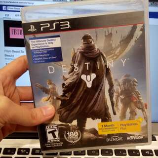 used ps3 game destiny