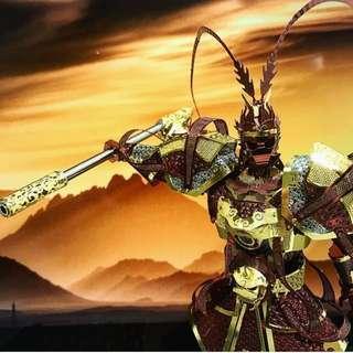THE MONKEY KING 3D METAL PUZZLE PIECECOOL 美猴王
