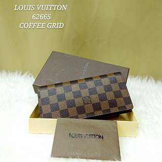 Louis Vuitton Brazza Damier Wallet