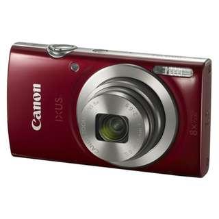 Canon IXUS 185 HS 紅色 公司貨