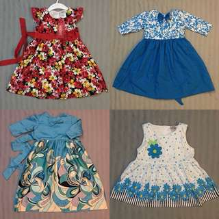 DRESSES 9-12m