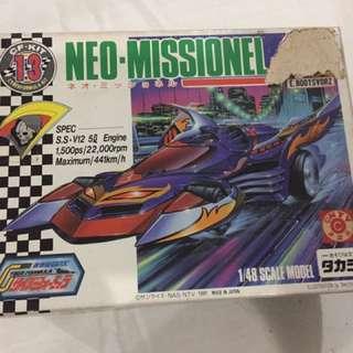 Takara Cyber Formula Neo-Missionel 1:48 scale